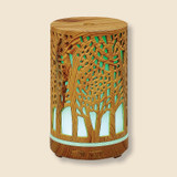 soothing light colored rosewood diffuser to bring the forest into your home