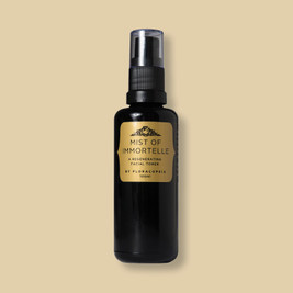 Immortelle and helichrysum hydrating facial toner