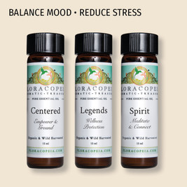Essential Oil collection balancing healing aromatherapy