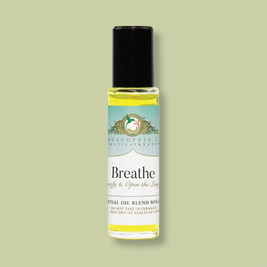 essential oils for clear breathing, breathe, breathe blend, breathe roll-on, roll-ons, roll-on