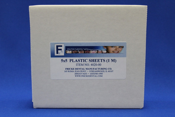 5 x 5 Plastic Trial Pack Sheets