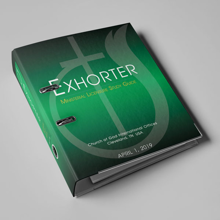 Exhorter PRINTED Study Guide