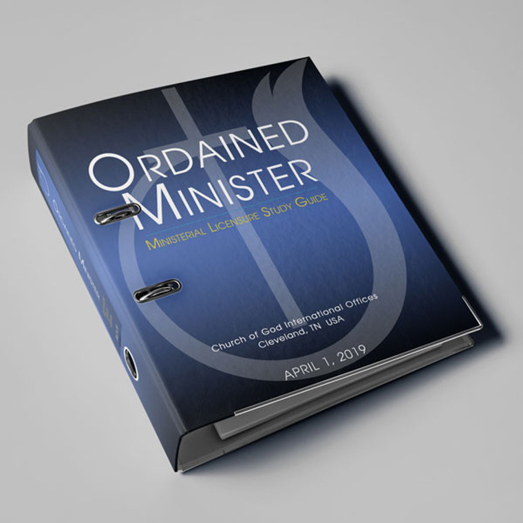 Ordained Minister PRINTED Study Guide