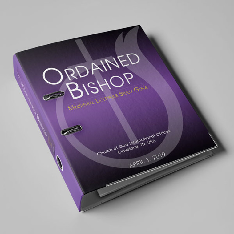 Ordained Bishop PRINTED Study Guide
