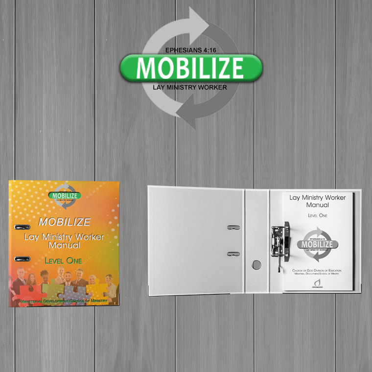Mobilize: Lay Ministry Worker - Level 1 Pastor's Notebook