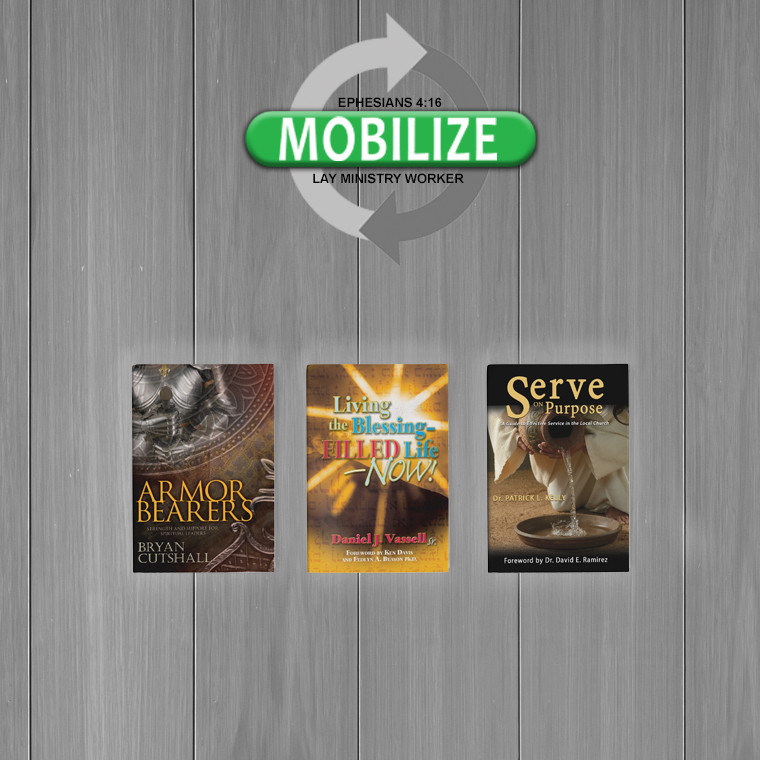Mobilize: Lay Ministry Worker - Level 1 Pastor's Set of Books