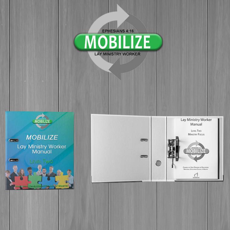 Mobilize: Lay Ministry Worker - Level 2 Pastor's Notebook