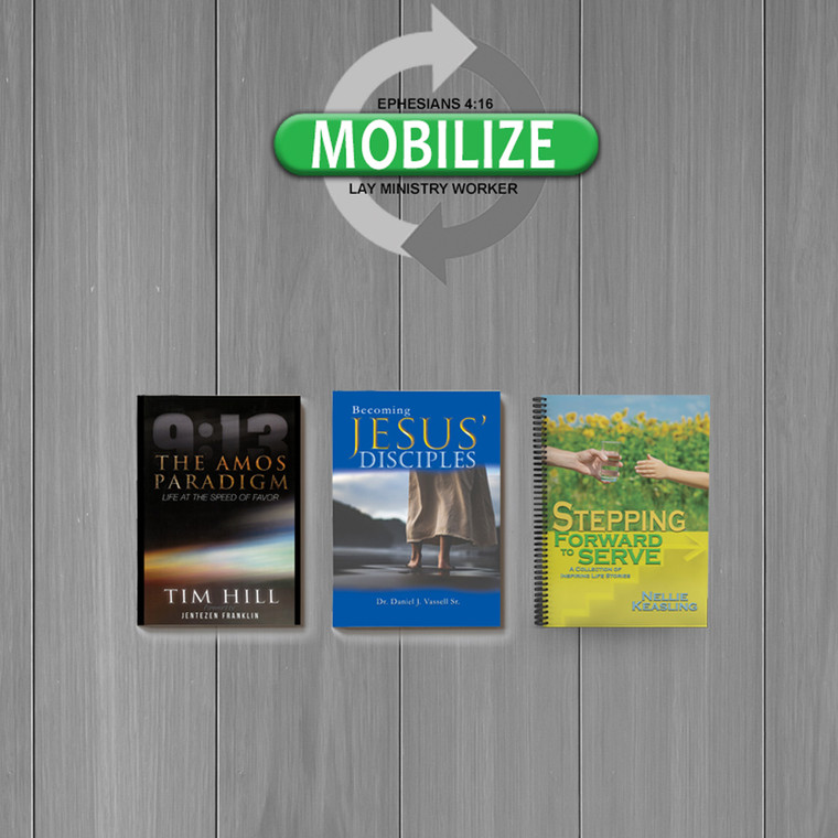 Mobilize: Lay Ministry Worker - Level 2 Pastor's Set of Books