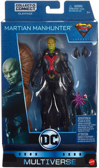 "Highly detailed 6"" key DC character figure Martian Manhunter from the Supergirl television series 21 points of articulation, detailed paint and iconic elements Full assortment includes Superman, Batwoman, Two Face, Green Lantern and more Connect and collect bonus pieces to build a Clayface figure! Each sold separately, subject to availability. Colors and decorations may vary Great gift for DC Comics fans!"