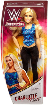 Action meets fashion with WWE Superstars Fashion Dolls! These approximately 12-inch WWE Superstars fashion dolls feature multiple points of articulation, amazing details and are fearlessly fashionable! Each WWE Superstars doll wears a fashion inspired by their signature style for a look that girls will love! Plus, these incredible dolls can also stand alone with their shoes on—perfect for recreating WWE Superstars action-fashion poses! Each doll includes outfit and shoes