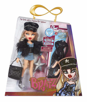 Bratz Collector Doll - Cloe Premium 10 Inch doll with articulation Two deluxe mix and match outfits with two pairs of shoes Faux fur shrug, purse, hat, sunglasses, compact, classic star hairbrush and limited edition poster Collect the whole Bratz pack