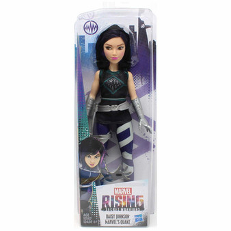 Daisy Johnson Marvel's Quake Inspired by Marvel Rising Secret Warriors 11 Inch Scale Poseable With Multiple Points of Articulation Collect them all!