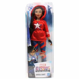 America Chavez Inspired by Marvel Rising Secret Warriors 11 Inch Scale Poseable With Multiple Points of Articulation Collect them all!