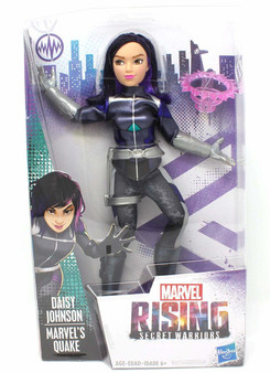 Daisy Johnson Marvel's Quake In Super Hero Outfit Inspired by Marvel Rising Secret Warriors 11 Inch Scale Poseable With Multiple Points of Articulation