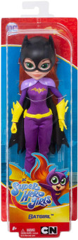Unleash your inner hero with these DC Super Hero Girls action dolls! This Batgirl doll (approx. 10 in.) comes in her iconic Super Hero outfit with removable accessories. Batgirl doll makes a fashion statement as bold and powerful as she is with her removable dark cape, sleek suit, bright gloves and belt, and batmask. Featuring a strong build, she can stand alone for powerful posing and action-Packed play. Enthusastic, agile, and analytical -Batgirl inspires kids to be true to themselves and discover their own super strengths. Collect them all! For ages 6 and up.
