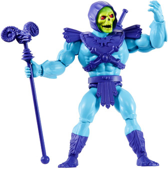 Figures are highly posable with 16 working joints. ​Longtime fans will appreciate the retro-style packaging and the mini comic book that comes with each figure! ​A great gift for adult collectors and kids age 6 and older. ​MOTU is back for a whole new generation of fans! ​Collection of 5.5-in action figures includes He-Man , Skeletor , Beast Man, Teela and lots more fan favourites for storytelling fun.