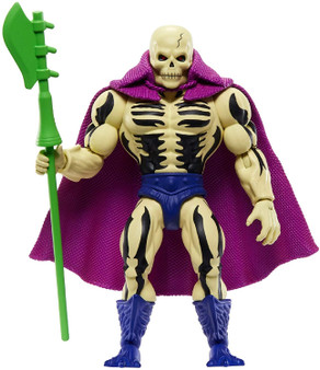 ​Figures are highly posable with 16 working joints. ​Longtime fans will appreciate the retro-style packaging and the mini comic book that comes with each figure! ​A great gift for adult collectors and kids age 6 and older. ​MOTU is back for a whole new generation of fans! ​Collection of 5.5-in action figures includes He-Man , Skeletor , Beast Man, Teela and lots more fan favourites for storytelling fun.
