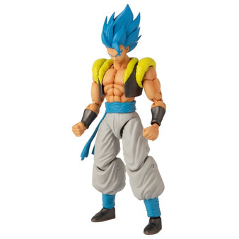 Includes 1 x 17cm Dragon ball dragon star Super Sayan Blue Gogeta Highly detailed can take countless positions thanks to over 16 points of articulation Comes with extra set of hands Each figure comes in Premium collector packaging Perfect gift for all fans, players and collectors of the Dragon Ball super saga