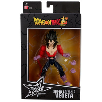 Contents: A Super Saiyan 4 Vegeta Figure and extra set of hands Detailed styling Highly poseable Over 16 points of articulation Premium collector packaging Collect them all! (Each sold separately)