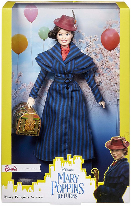 The beloved movie, Mary pop pins was an instant classic and now the movie sequel, Mary pop pins returns will enchant a whole new generation of fans. The Mary pop pins returns assortment features dolls inspired by the movie sequel and include the three main characters: Barbie Mary pop pins doll, Barbie topsey doll and the Barbie Jack doll. Colours and decorations may vary. 