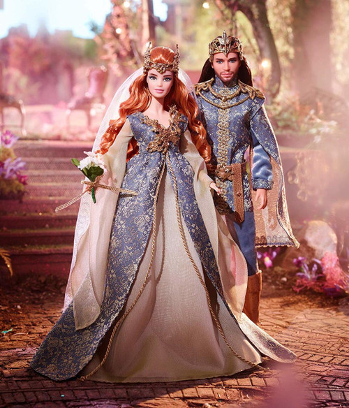 As the sixth and seventh dolls in the Faraway Forest series, this royal couple are the crown jewel of the Faraway Forest Collection. Barbie signature doll collect them all. The perfect gift for adults Barbie fans.