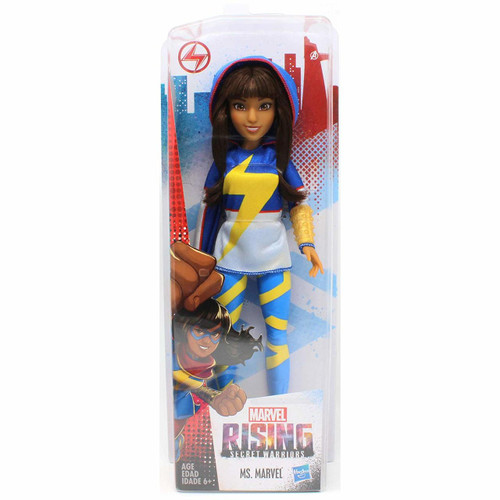 Ms. Marvel Inspired by Marvel Rising Secret Warriors 11 Inch Scale Poseable With Multiple Points of Articulation Collect them all!