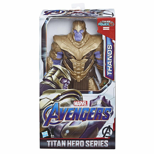 Connect Titan Hero Power FX pack to activate Sounds and Phrases (not included; sold separately with Titan Hero Power FX figures) Includes Titan Hero Power FX connection port Inspired by the Avengers: Endgame movie Check out other Titan Hero Series and Titan Hero Power FX figures (each sold separately)