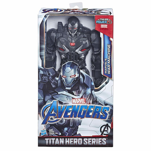 Connect Titan Hero Power FX pack to activate Sounds and Phrases (not included; sold separately with Titan Hero Power FX figures) Includes Titan Hero Power FX connection port Inspired by Avengers: Endgame movie Check out other Titan Hero Series and Titan Hero Power FX figures (each sold separately)
