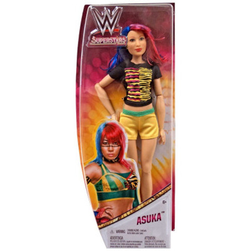 WWE Superstars Fashion Dolls are action and fashion in one!  Approximately 12-inches in height, dolls feature multi-point articulation and details unique to each Superstar Each doll wears a fashion look Inspired by their signature style in the ring Dolls can stand alone with their shoes on—perfect for action-fashion posing Each doll includes an outfit and shoes
