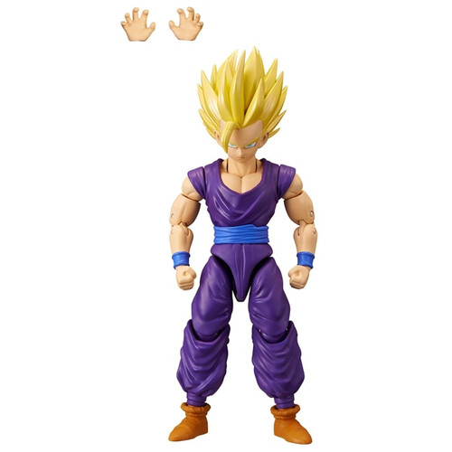 Includes 1 x 17cm Dragon ball dragon star Super Saiyan 2 Gohan Highly detailed can take countless positions thanks to over 16 points of articulation Comes with extra set of hands Each figure comes in Premium collector packaging Perfect gift for all fans, players and collectors of the Dragon Ball super saga