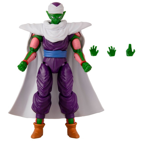 Contents: A Piccolo Figure and extra set of hands Detailed styling Highly poseable Over 16 points of articulation Premium collector packaging
