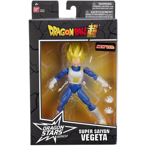 Contents: A Saiyan Vegeta Figure and accessories Detailed styling Highly poseable Comes with extra set of hands Premium collector packaging