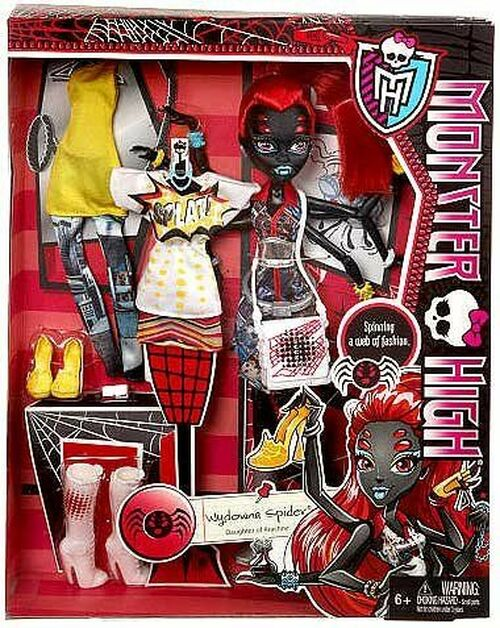 I love Fashion Wydowna Spider Exclusive Doll Monster High