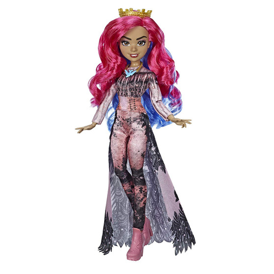 AUDREY FROM DISNEY'S DESCENDANTS 3: In Disney's Descendants 3, Audrey followed all the rules…until now FASHION DOLL WITH ACCESSORIES: This Audrey figure includes doll, outfit, tiara, necklace, and shoes for fashion play fun DISNEY'S DESCENDANTS 3 MOVIE: This Disney toy is inspired by Audrey from Disney's Descendants 3 movie TOY FOR 6 YEAR OLDS AND UP: This Descendants doll is an amazing birthday gift or holiday present for kids