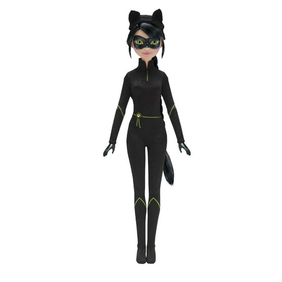 Articulated Lady Noir doll 26 cm high! Includes an exclusive accessory! Collect all the dolls