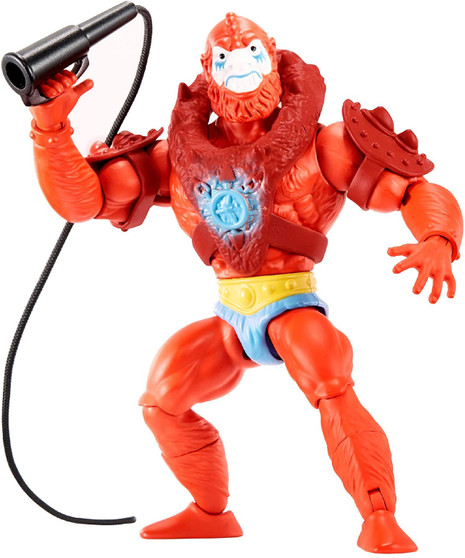 Figures are highly posable with 16 working joints. Longtime fans will appreciate the retro-style packaging and the mini comic book that comes with each figure! A great gift for adult collectors and kids age 6 and older. MOTU is back for a whole new generation of fans! Collection of 5.5-in action figures includes He-Man , Skeletor , Beast Man, Teela and lots more fan favourites for storytelling fun.