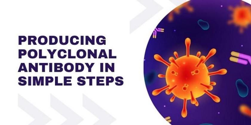 Producing Polyclonal Antibody in Simple Steps