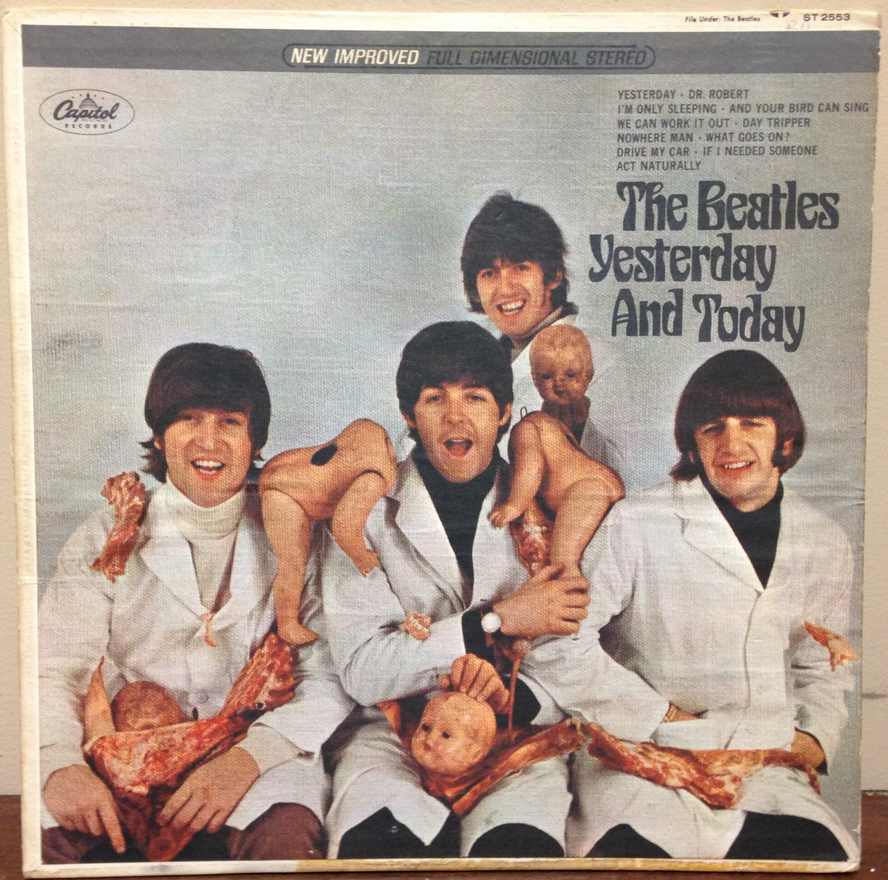*USED* Beatles Yesterday and Today Butcher Cover 3rd State LP