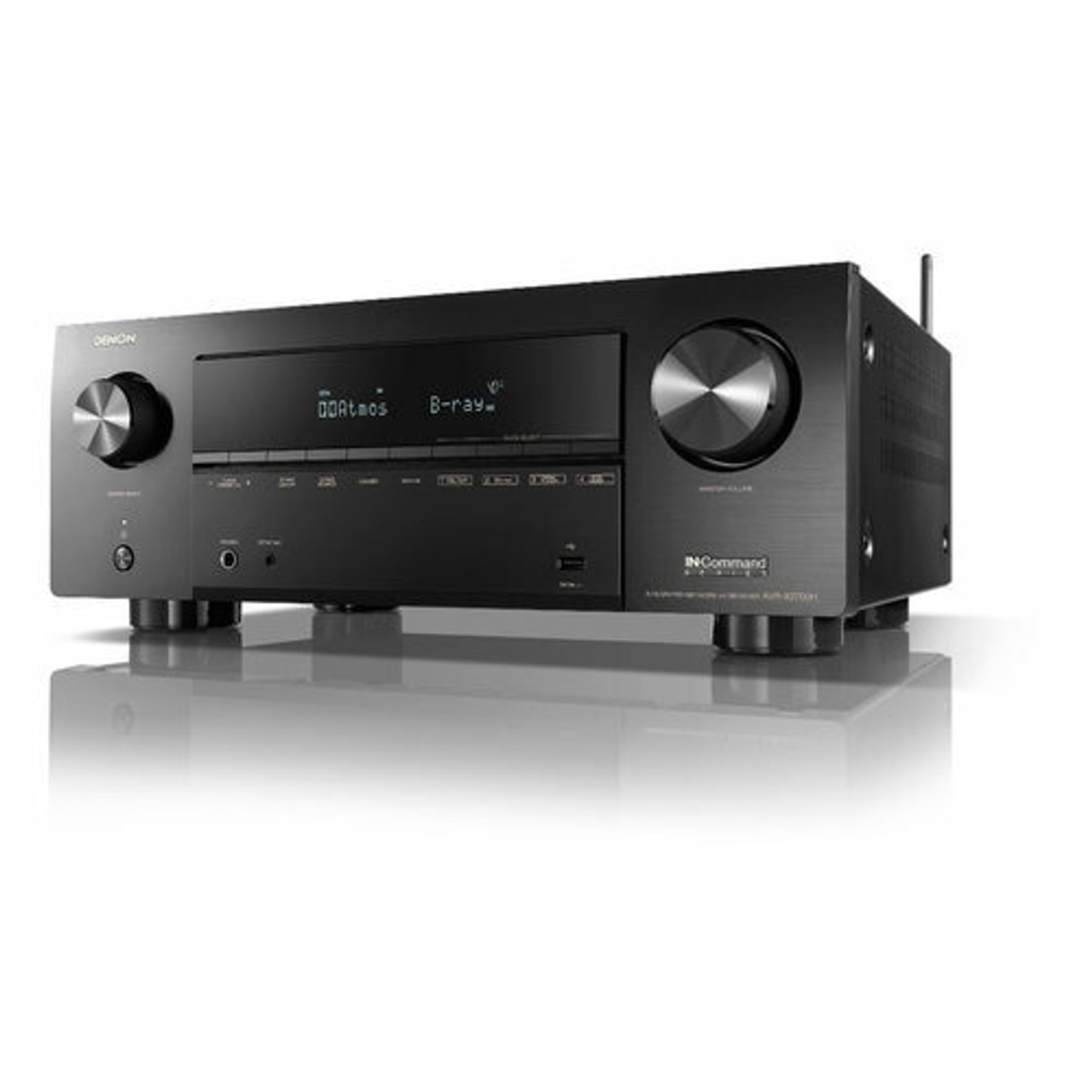Denon AVR-X2700H 7.2-Channel 8K Ultra HD AV Receiver with 3D Audio and HEOS Built-In