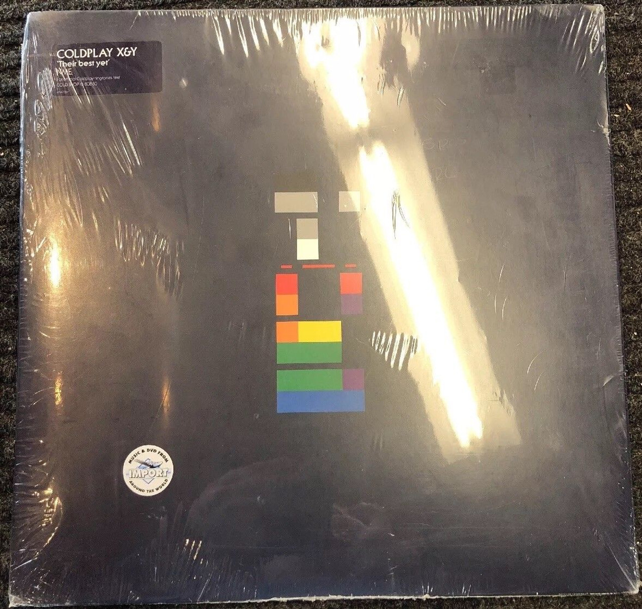 Coldplay X&Y 2005 Sealed In Box w/Poster LP