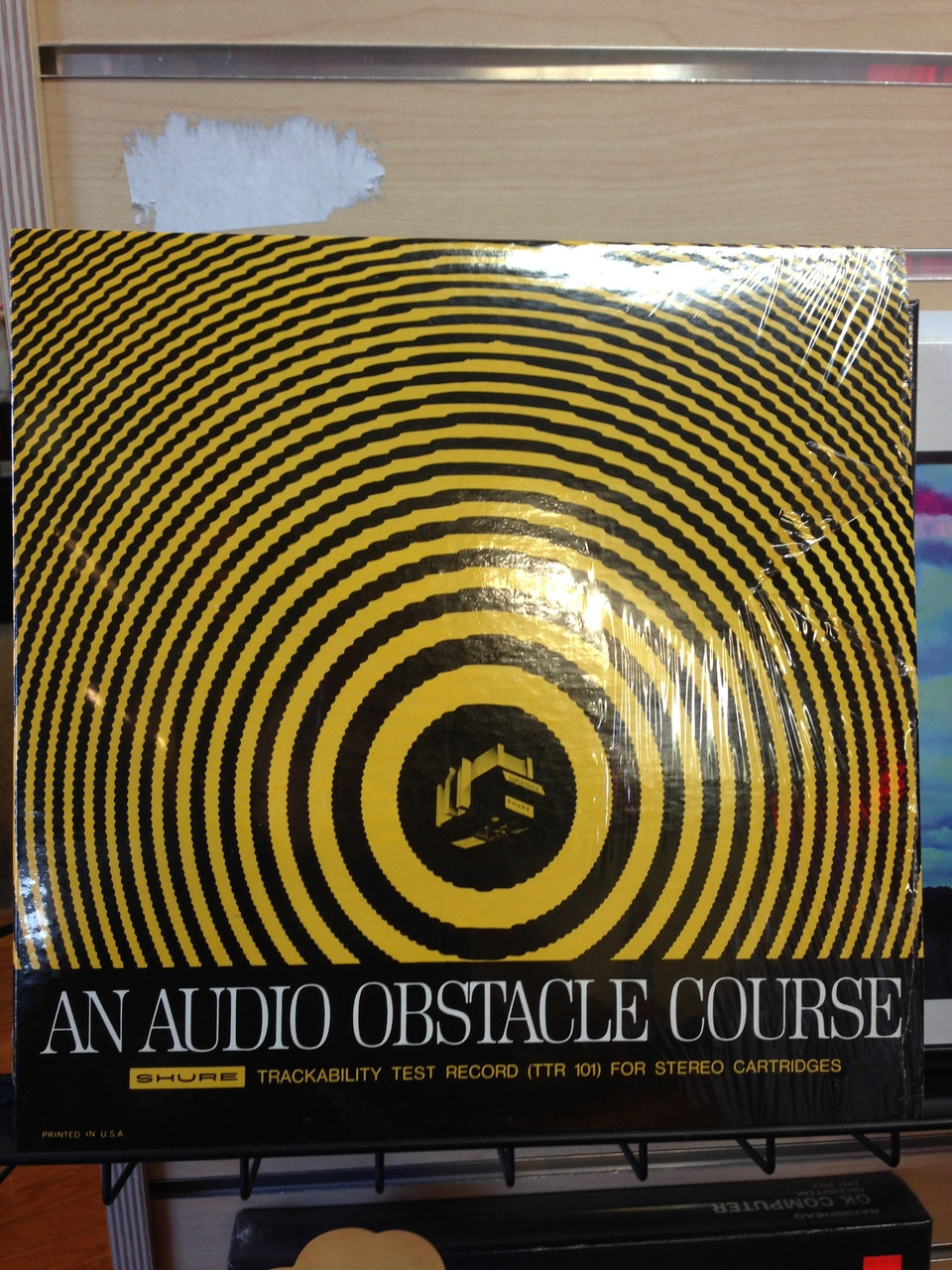 Audio Obstacle Course - Shure Test Record  LP