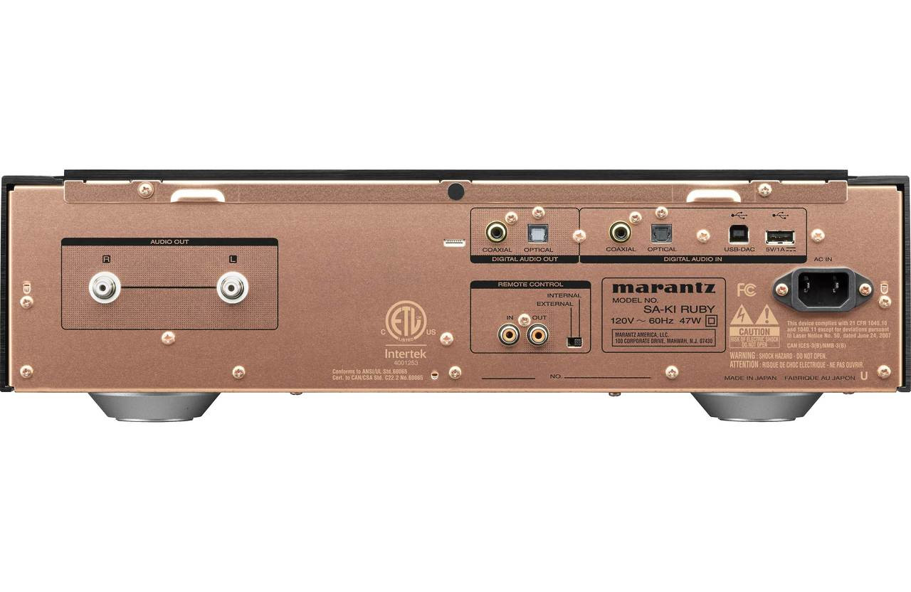 Marantz SA-KI Ruby Signature Super Audio CD Player with DAC