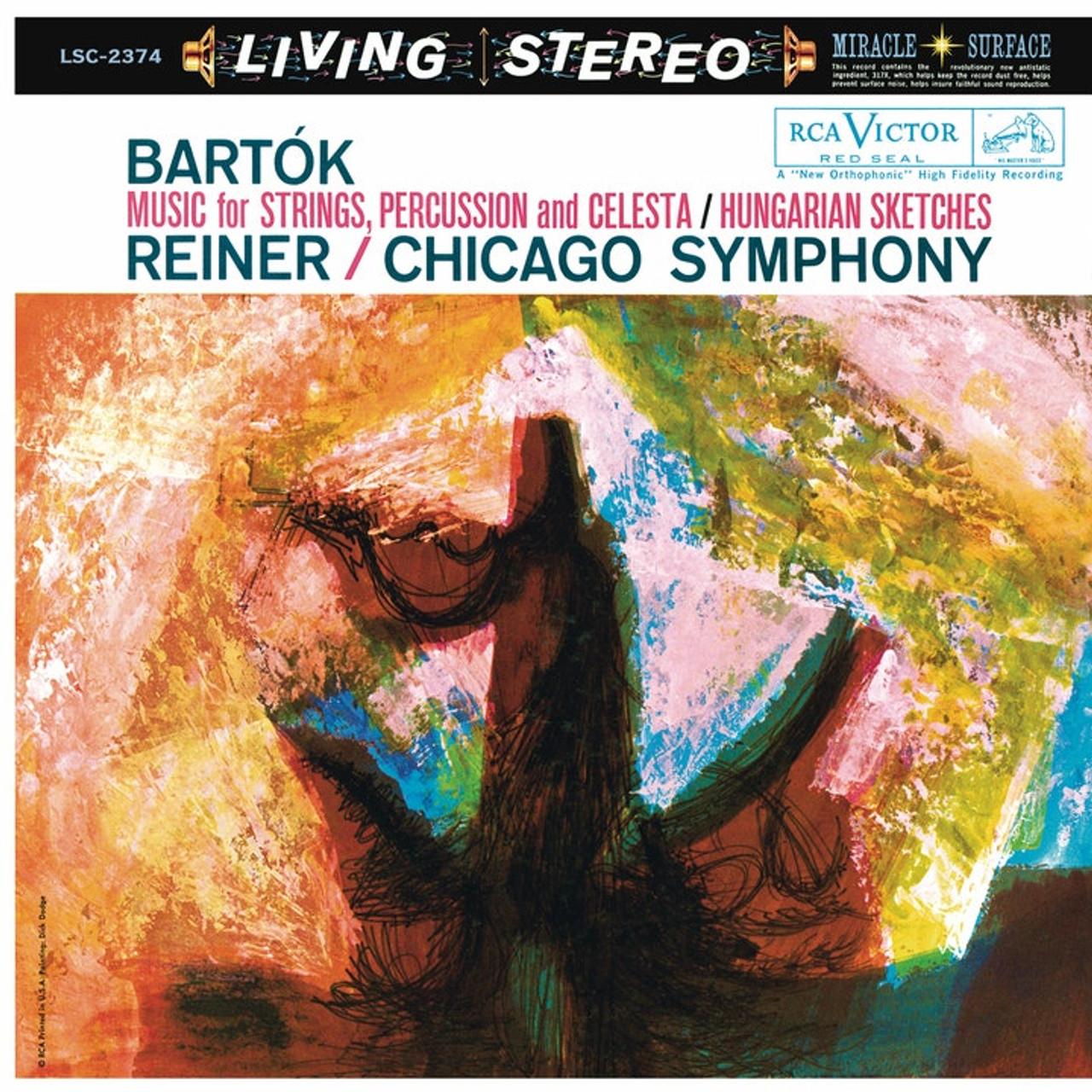 Bartok Music for Strings Percussion Celesta Reiner SD Shaded Dog  LP