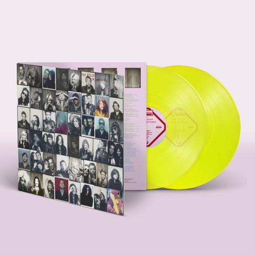 Kills Little Bastards Neon Yellow Vinyl LP