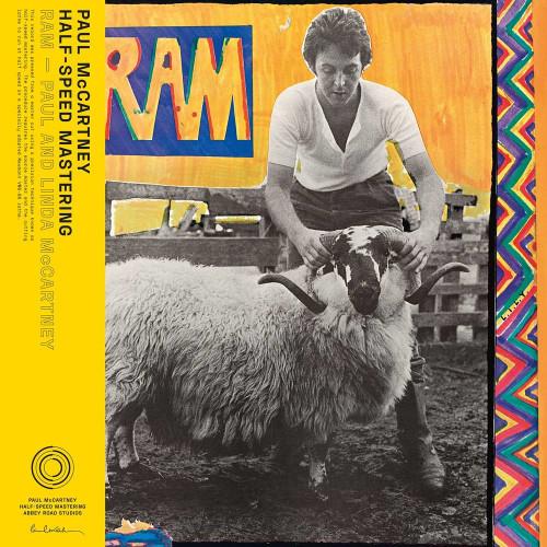 Paul McCartney Ram Indie Only 1/2 Speed Mastered Vinyl LP
