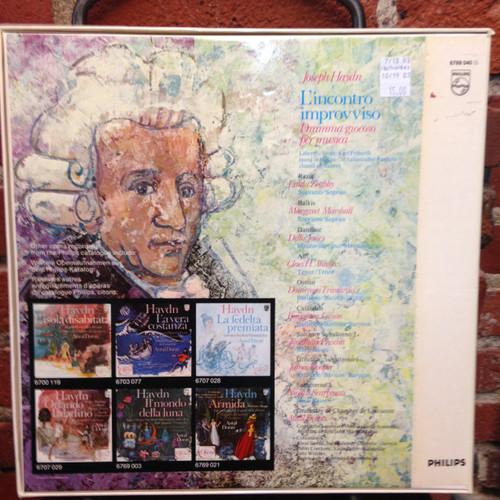 Haydn L'Incontro Improvviso Dorati Zoghby Marshall Jones 3 LP Set
