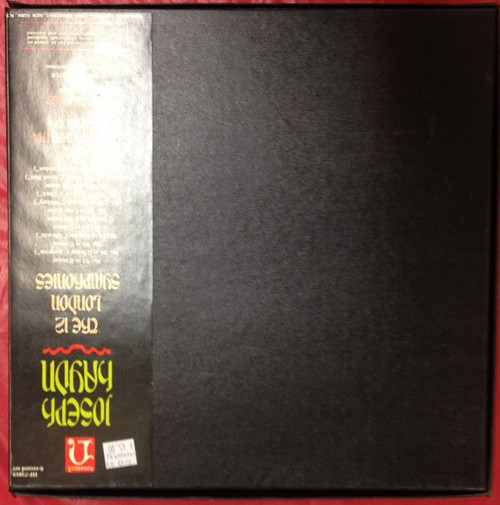 Haydn 12 London Symphonies Jones 6 LP Set