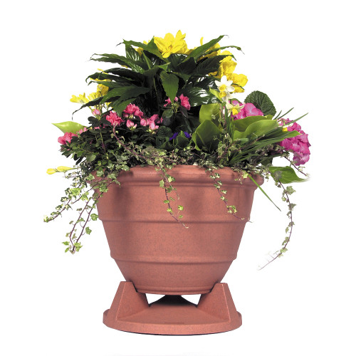Rockustics Omniplanter 6.5 in Terra Cotta Granite