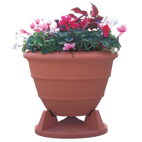 Rockustics Omniplanter 8.0 in Terra Cotta Granite