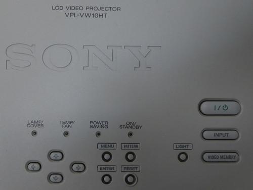 Sony VPL-VW10HT LCD Video Projector w/Remote